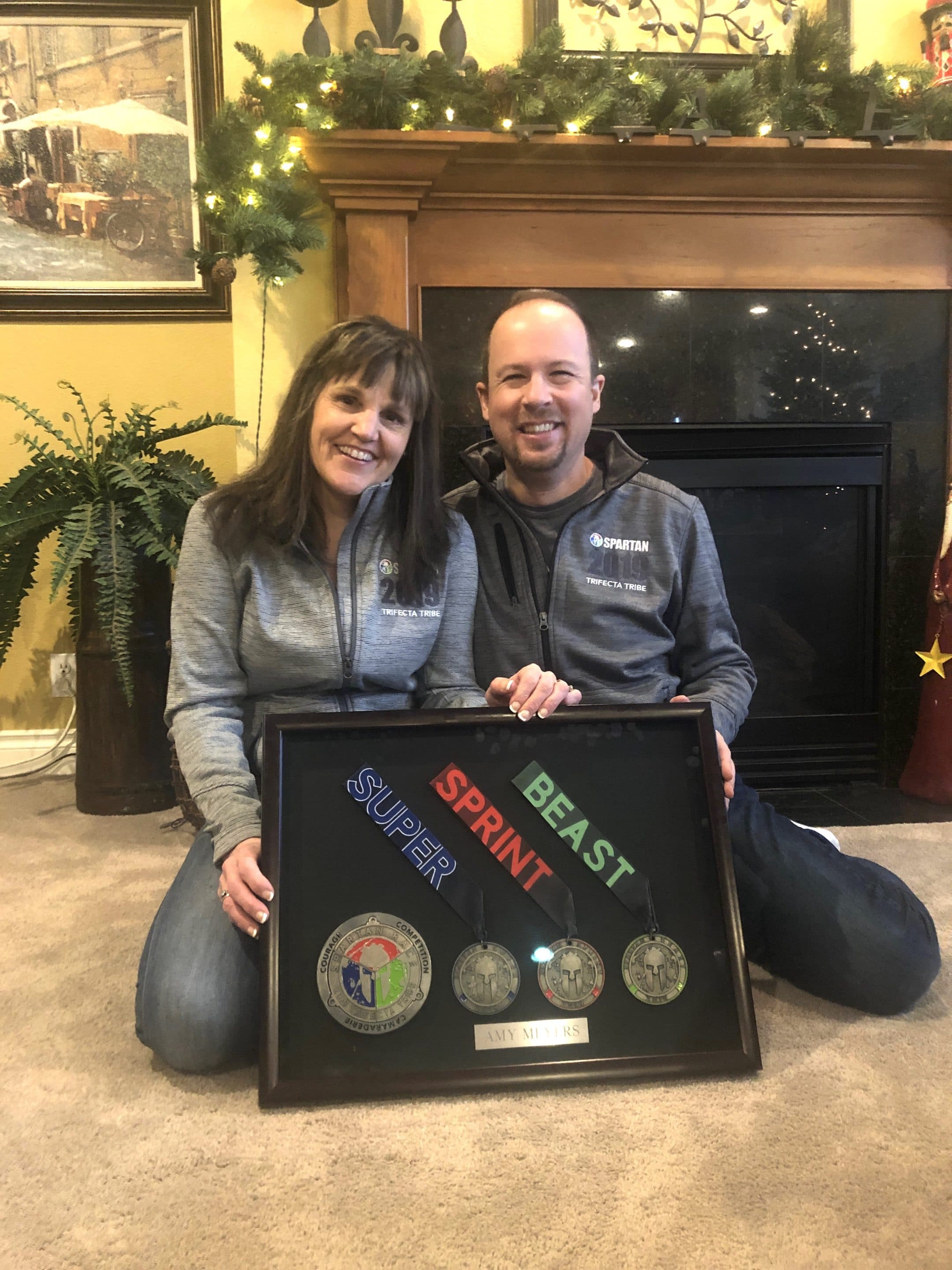 A couple who won a Spartan Obstacle course race and renewed the passion in their marriage